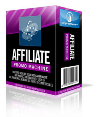 Product picture Affiliate Promo Machine Page Builder Software with MRR