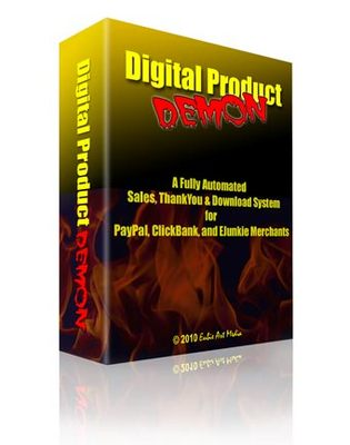 Product picture Digital Product Demon - A fully automated Sales! with MRR